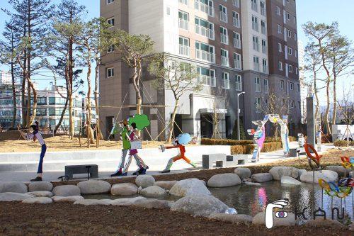 상록지구 상록스타클래스 단지색채 색채디자인 아트조형물 상징조형물 미술장식품 조형예술