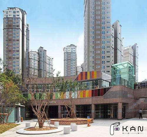 광교 광교신도시 자이아파트 주거환경디자인 아파트조경 단지주변환경개선 GS건설 환경디자인 실외조형물