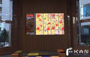 로비인테리어 사무실인테리어 미디어아트 미디어갤러리 고급인테리어 미디어콘텐츠