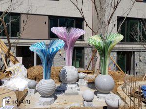 경기도 김포시 운양동 주거환경디자인 아파트조경 단지주변환경개선 GS건설 실외조형물